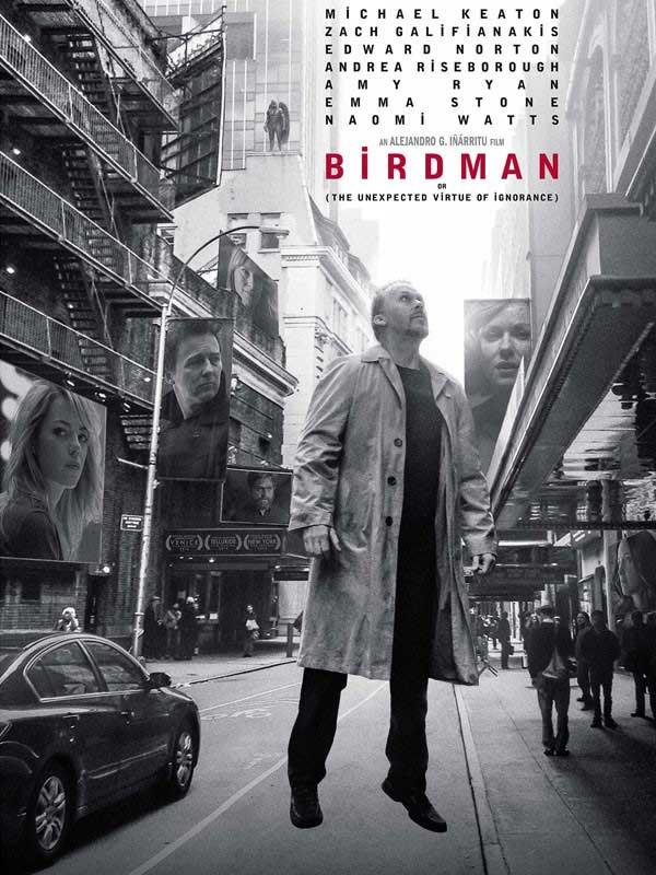 دانلود فیلم مرد پرنده Birdman دوبله فارسی دانلود فیلم بردمن 2014