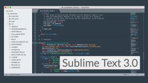 Sublime Text 3.0.0 Build 3143 دانلود نرم افزار ویرایشگر حرفه ای متن