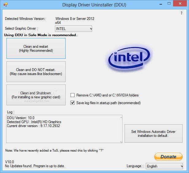 Display Driver Uninstaller 17.0.8.3 نرم افزار حذف کامل درایور کارت گرافیک