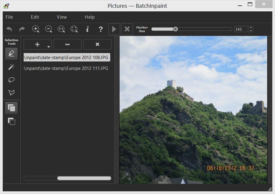 Teorex Inpaint 7.0 دانلود نرم افزار حذف اجسام از تصاویر. دانلود Teorex Inpaint
