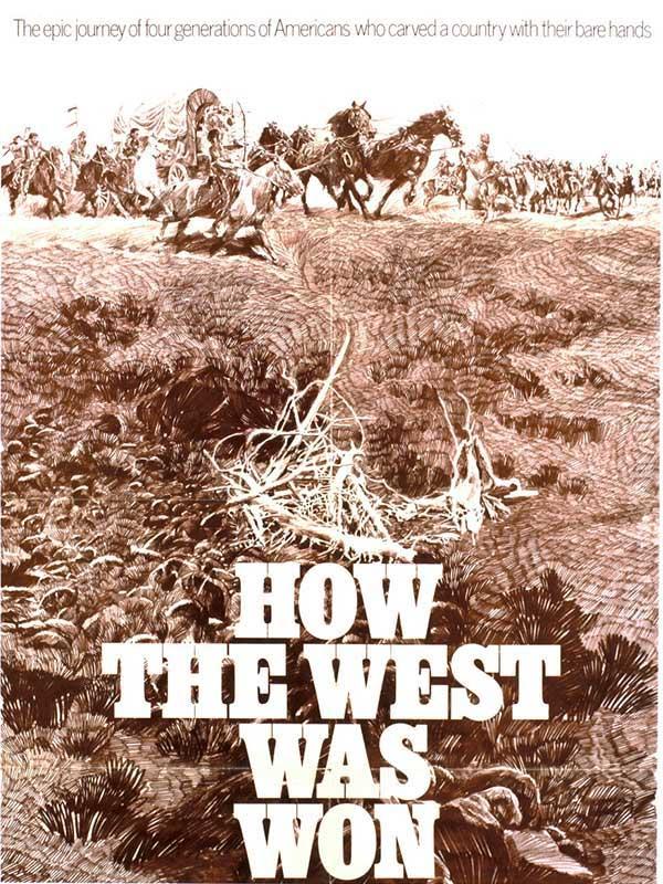 دانلود فیلم چگونه غرب تسخیر شد How the West Was Won دوبله فارسی