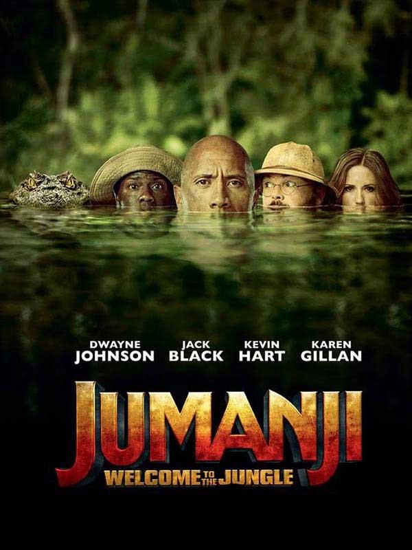 دانلود فیلم جومانجی : به جنگل خوش آمدید Jumanji : Welcome to the Jungle دوبله فارسی