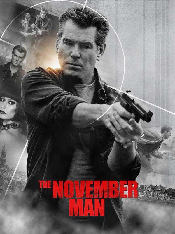 دانلود فیلم متولد ماه مردگان The November Man دوبله فارسی