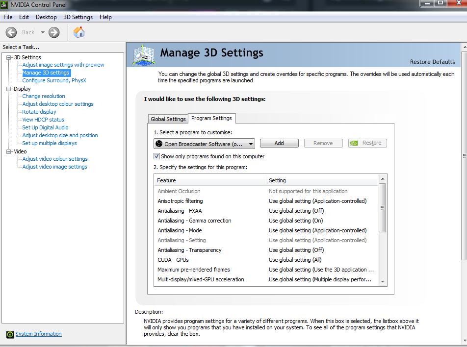 nVIDIA GeForce Driver 391.01 WHQL درایور کارت گرافیک انویدیا