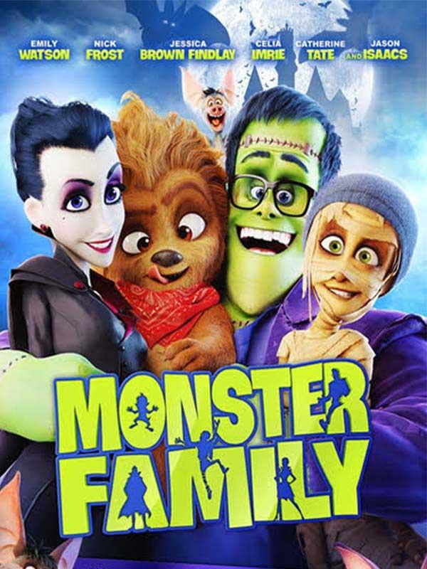 دانلود انیمیشن زیبای خانواده هیولاها Monster Family دوبله فارسی 2017 لینک مستقیم مجانی و رایگان