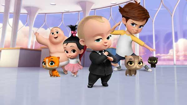 دانلود انیمیشن زیبای سریالی بچه رییس : بازگشت به کار دوبله فارسی The Boss Baby