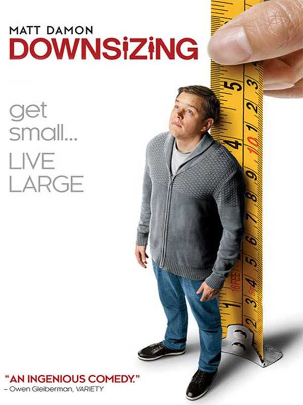 دانلود فیلم کوچک کردن Downsizing دوبله فارسی 2017 رایگان کیفیت بالا