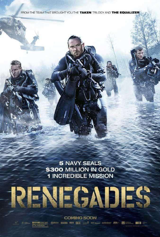دانلود فیلم یاغی ها Renegades دوبله فارسی با لینک مستقیم و رایگان 2017