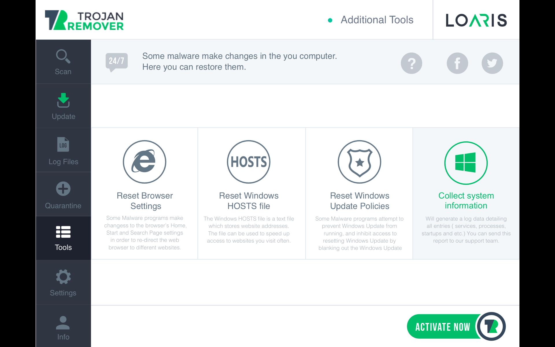 Loaris Trojan Remover 3.0.48.181 نرم افزار پاکسازی تروجان های ویندوز