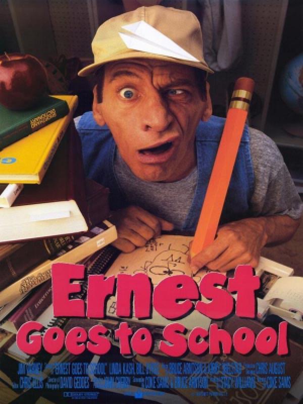 دانلود فیلم ارنست به مدرسه می رود Ernest Goes to School دوبله فارسی