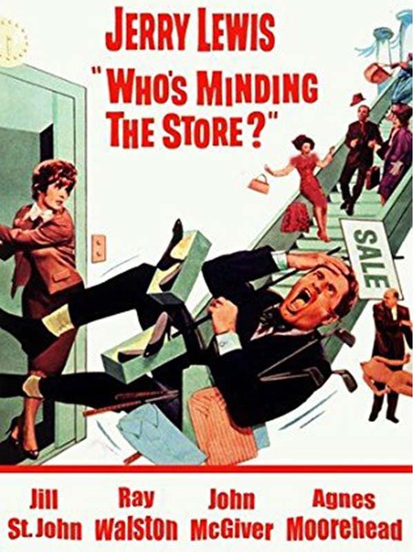 دانلود فیلم جنجال در فروشگاه Who's Minding the Store? دوبله فارسی
