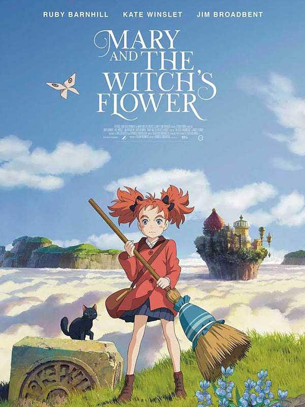 دانلود انیمه مری و گل ساحره Mary and the Witch's Flower دوبله فارسی