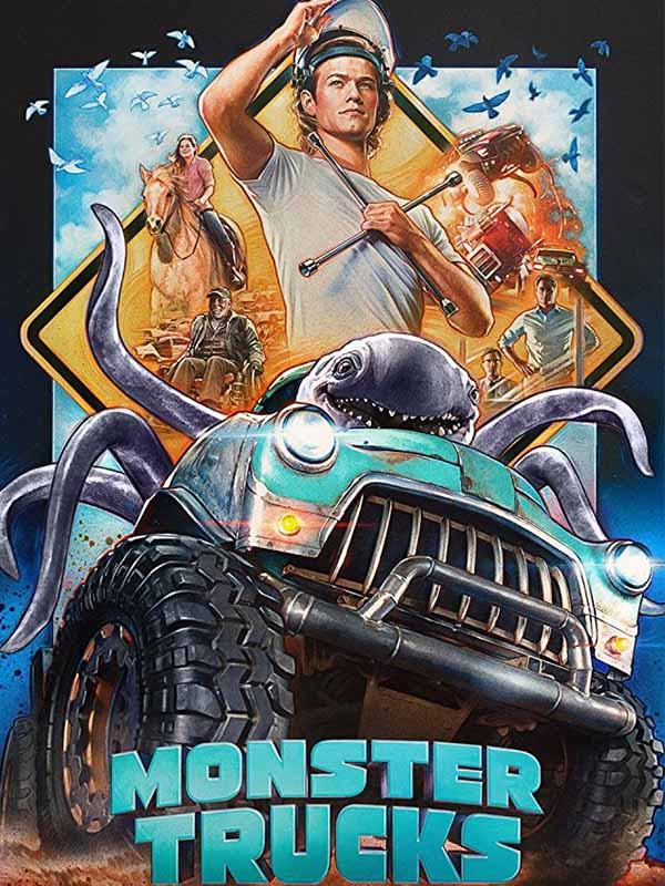 دانلود فیلم ماشین های هیولا Monster Trucks دوبله فارسی 2016 لینک مستقیم رایگان