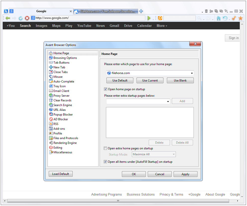Avant Browser 2018 Build 5 Ultimate مرورگر سریع و مخصوص اینترنت