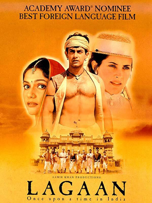 دانلود فیلم هندی باج Lagaan دوبله فارسی Once Upon a Time in India 2001