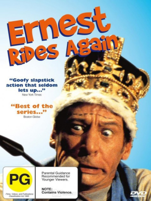 دانلود فیلم ارنست گنج یاب می شود Ernest Rides Again دوبله فارسی