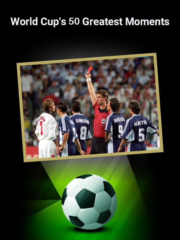 دانلود مستند پنجاه صحنه برتر جام جهانی World Cup's 50 Greatest Moments 2014