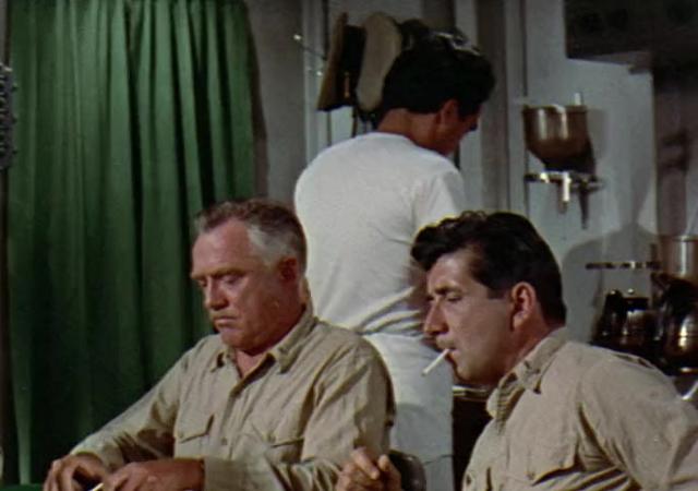 دانلود فیلم دشمنی در اعماق The Enemy Below دوبله فارسی 1957