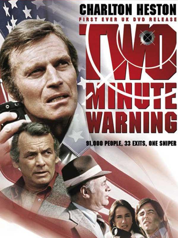 دانلود فیلم دو دقیقه مهلت Two-Minute Warning دوبله فارسی 1976