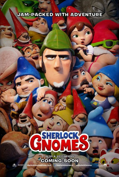 دانلود انیمیشن شرلوک نومز Sherlock Gnomes دوبله فارسی 2018