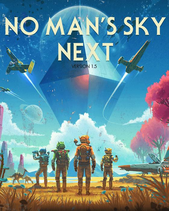 دانلود No Mans Sky Next برای کامپیوتر - بازی آسمان هیچکس: آینده