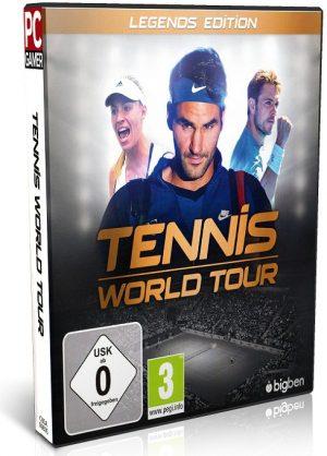 دانلود Tennis World Tour برای کامپیوتر - بازی تور جهانی تنیس