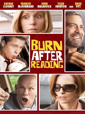 دانلود فیلم پس از خواندن بسوزانید Burn after Reading دوبله فارسی 2008